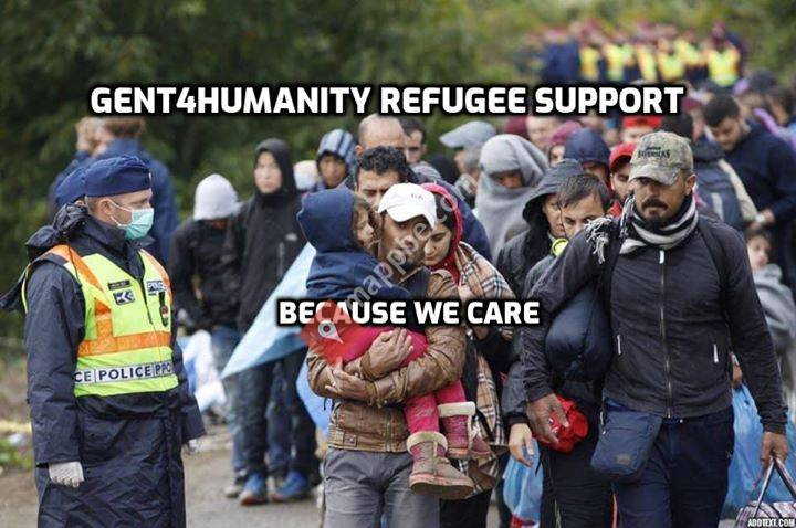 Gent4Humanity refugee support.